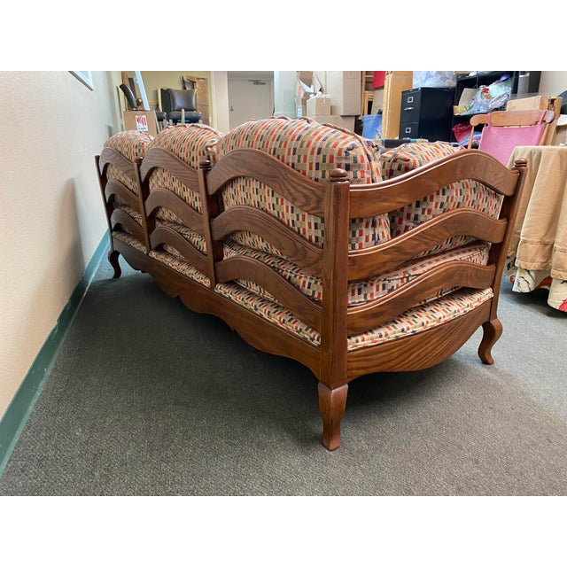 Thomasville Thomasville French Country Reproduction Sofa /Daybed For Sale - Image 4 of 12
