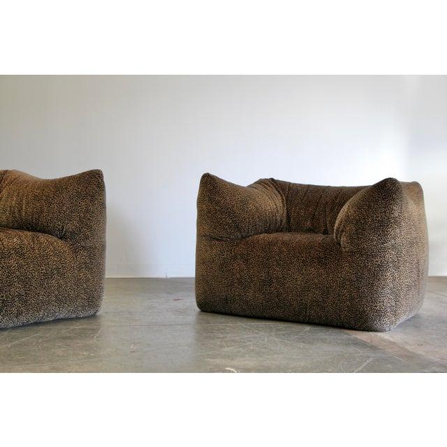 """1970s 1970s Mario Bellini """"Le Bambole"""" Chairs & Ottoman For Sale - Image 5 of 13"""