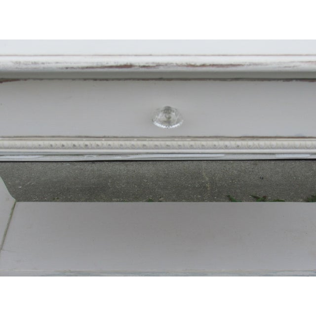 Vintage French Shabby Chic Style Desk - Image 5 of 7