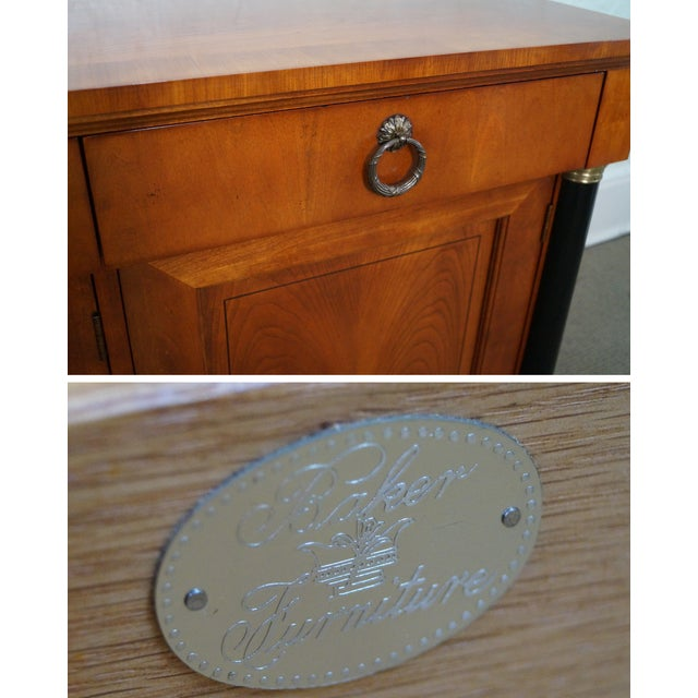 Baker French Empire Style Fruitwood Sideboard For Sale In Philadelphia - Image 6 of 10