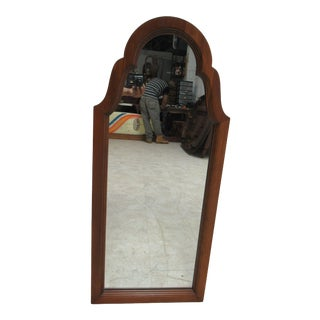 Pennsylvania House Cherry Chippendale Hanging Dresser Wall Mirror For Sale