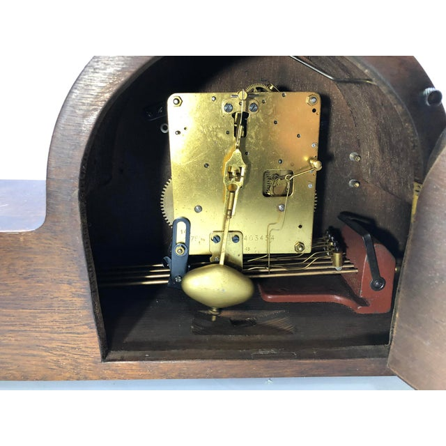 Mauthe Traditional Mantel Clock For Sale In New York - Image 6 of 7
