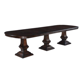Pastry Table Tuscan Pedestals Italian Oval Top For Sale