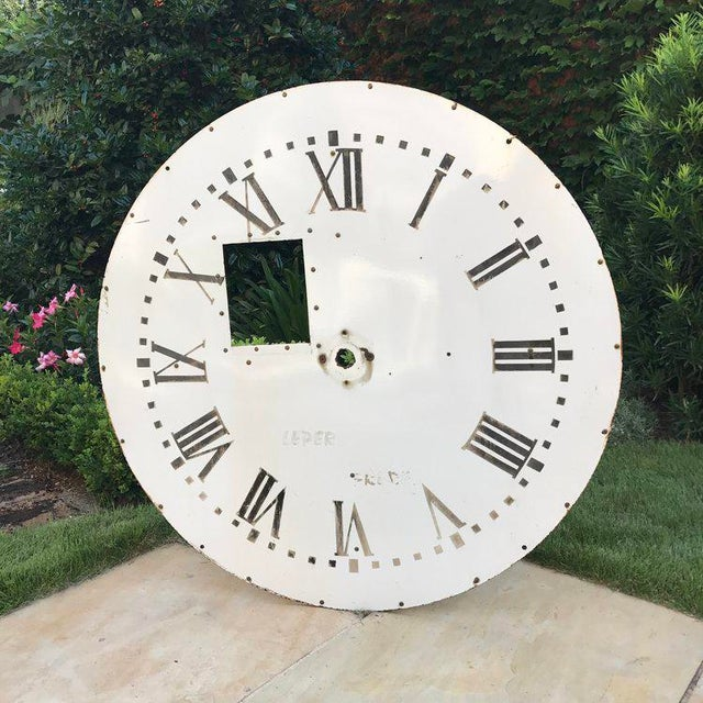 Early 20th Century Clock Face For Sale - Image 5 of 5
