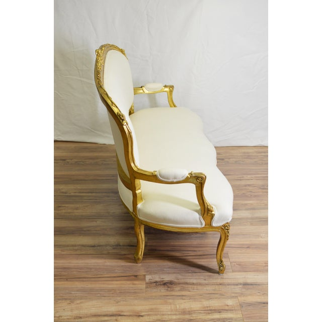19th Century White and Gold Venetian Sofa - Image 6 of 10