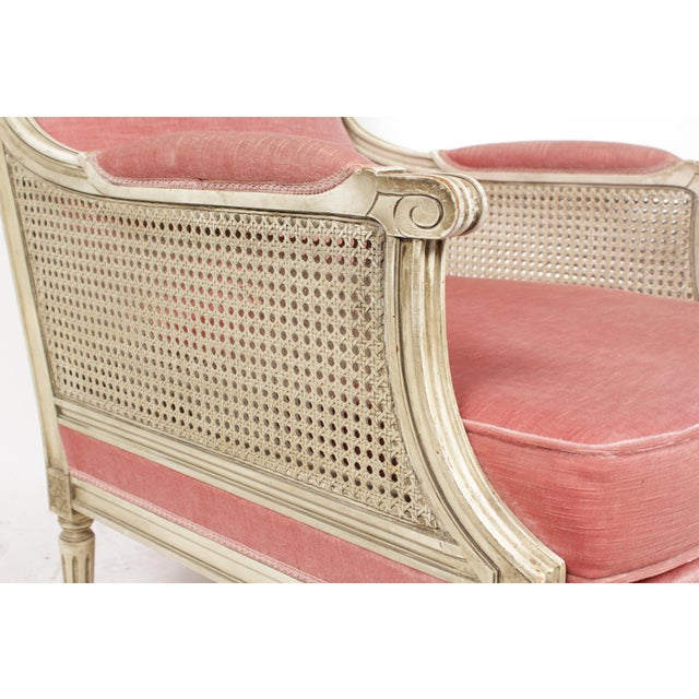 1930s Louis XVI Style Bergere Chairs - A Pair - Image 7 of 10
