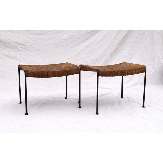 Arthur Uminoff Iron Benches - a Pair - Image 3 of 11