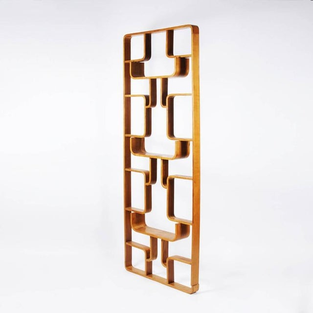 Flower wall unit or room divider designed by Ludvik Volak and produced by Drevnopodnik Holesov, Czech Republic in the...