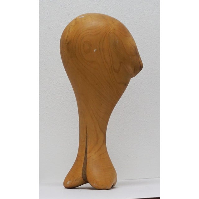 Wood Sculpture by Candace Knapp For Sale - Image 5 of 9