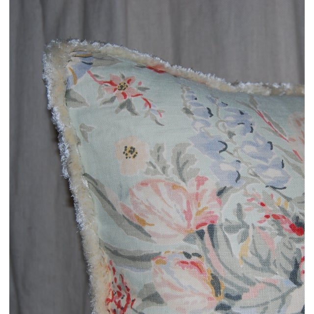 Travers Floral Pillows - Pair - Image 4 of 4