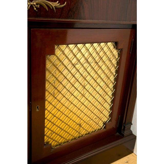 Regency Style Rosewood Serving Cabinet - Image 6 of 8