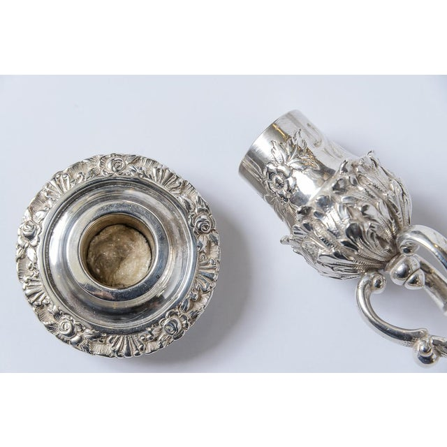 Traditional Sterling Silver Candlesticks/Kirk and Son-Setof 4 For Sale - Image 3 of 8