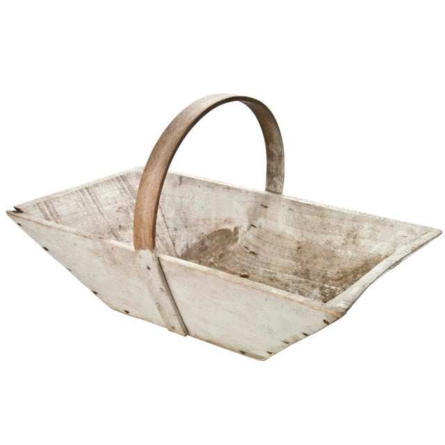 Vintage French Wood Garden Trug - Image 4 of 6