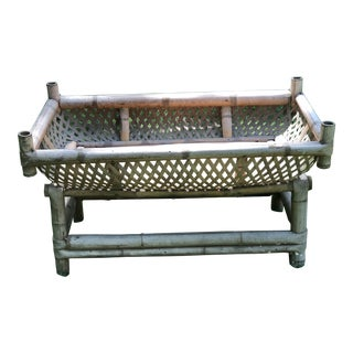Asian Mid Century Baby Crib For Sale