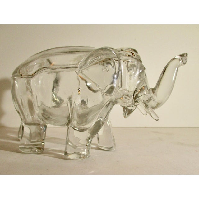 Figurative Elephant Shaped Decorative Jar For Sale - Image 3 of 7