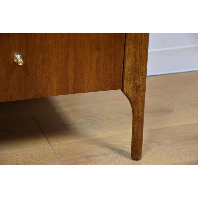 Forward Furniture by Unagusta Walnut Dresser For Sale - Image 11 of 11