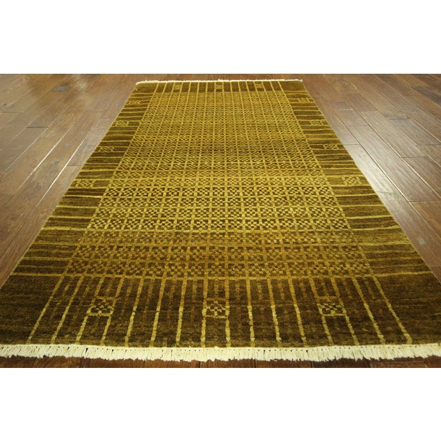 "Oriental Traditional Oushak Rug - 4'1"" x 5'7"" - Image 3 of 7"