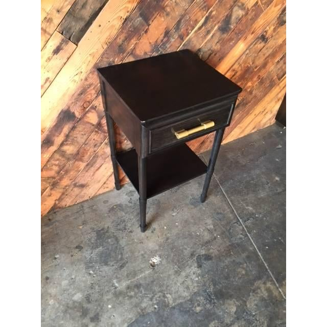 Raymond Loewy Vintage Brown Side Table - Image 5 of 5