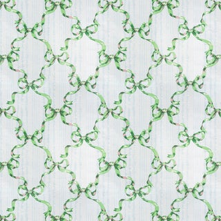 Vintage Bassett McNab 'Moire Avec Rubans' Ribbon Fabric (By the Yard) For Sale