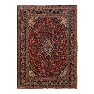 One-Of-A-Kind Persian Hand-Knotted Area Rug, Sienna, 10 X 14' 4 For Sale