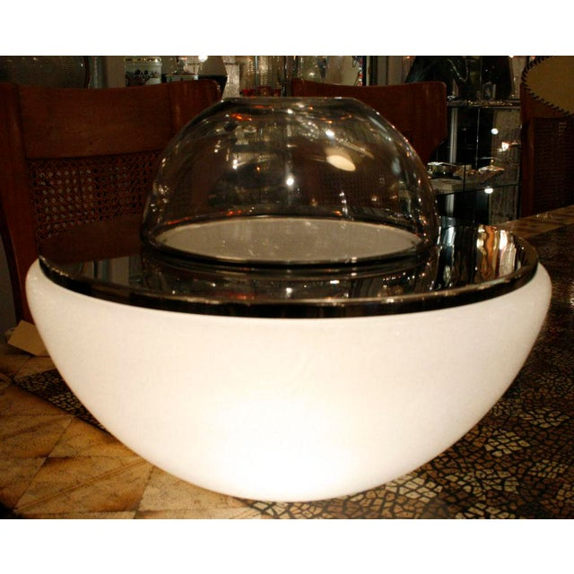 Italian Mazzega Space Age Table Lamp For Sale - Image 3 of 4