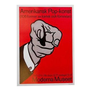 Vintage Poster Lithograph - Roy Lichtenstein For Sale
