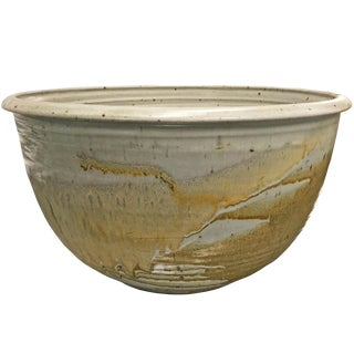 Mid-20th Century American Studio Pottery Bowl For Sale