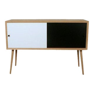 Via Cph Soaped Oak Danish Sideboard / Cabinet For Sale