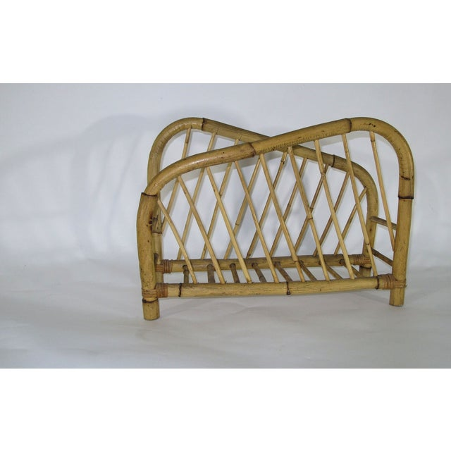 1960's Bamboo Magazine Rack For Sale In Los Angeles - Image 6 of 6