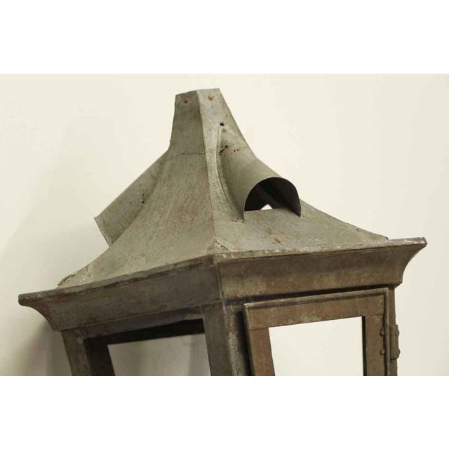 Vintage Exterior Lantern For Sale - Image 6 of 6