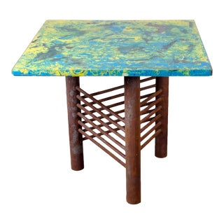 Giovanni 'John' Bucci Fiberglass & Steel Table For Sale