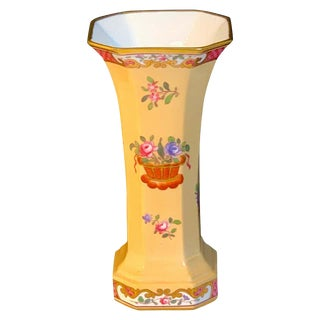 Floral Vase by Spode Copelands China, Retailed by Tiffany & Co. New York For Sale