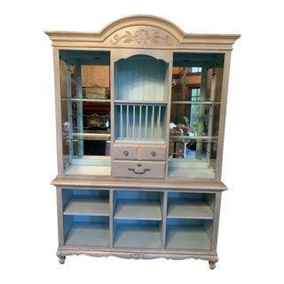 Painted Display Cabinet For Sale