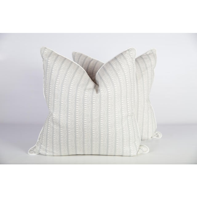 Custom Veere Grenen Linen Kiosk Pillows - A Pair For Sale - Image 4 of 4