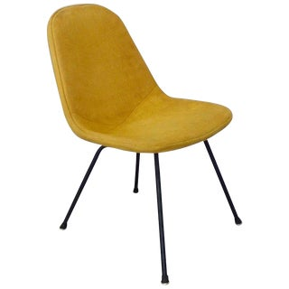 Eames Herman Miller Dkr Chair on Early Production Low X-Base For Sale