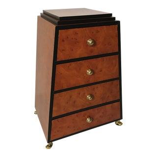 Art Deco Burl Jewelry Box For Sale