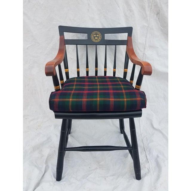 Harvard University Veritas Nichols & Stone Captain's Chair For Sale - Image 12 of 12