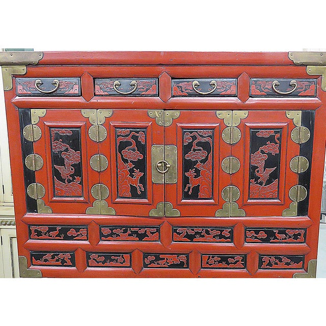 Asian Antique Asian Cabinet For Sale - Image 3 of 13 - Antique Asian Cabinet Chairish