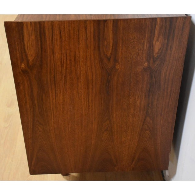 Mid-Century Sculpted Walnut Dresser - Image 6 of 11