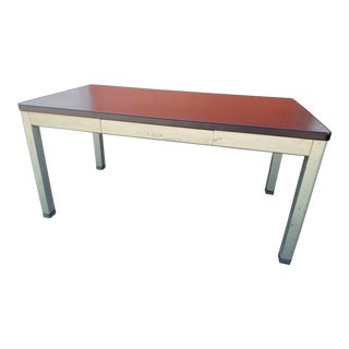 Vintage Mid Century Modern Yaman and Erbe Desk For Sale