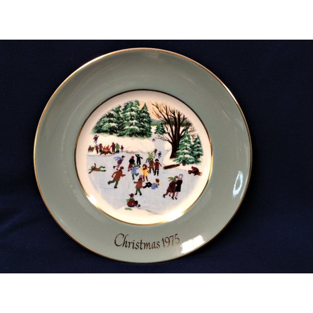 wedgewood christmas plate series includes 6 plates years 1975 through 1980 made exclusively for avon