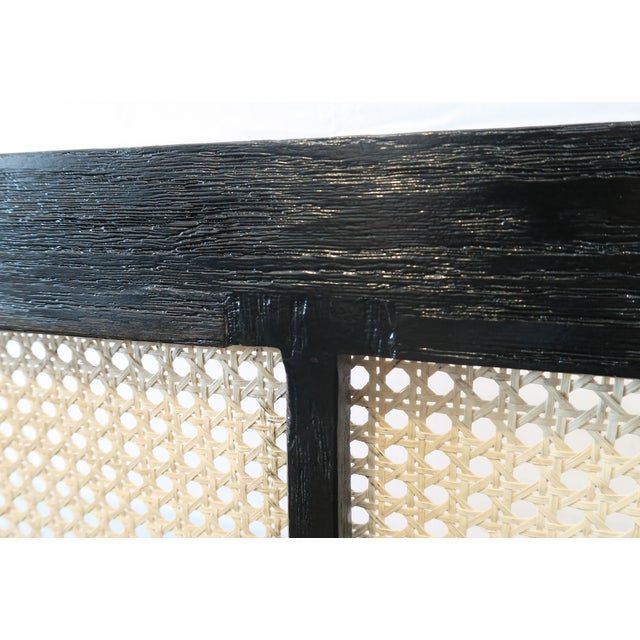 Custom Ebony Cane Console - Image 8 of 9