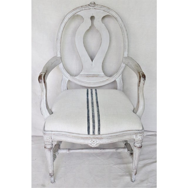 Mid 19th Century Swedish Gustavian Dining Chairs, Set of 6 For Sale - Image 10 of 13