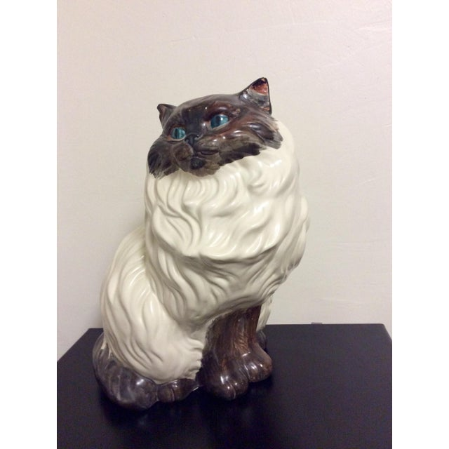 Antique Porcelain Cat - Image 7 of 9