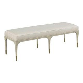 Modern Juliet White Bench For Sale