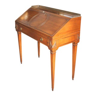 French Neoclassical Style Lady's Secretary Desk For Sale
