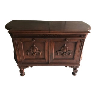 1920's Brunswick Phonograph Antique Console