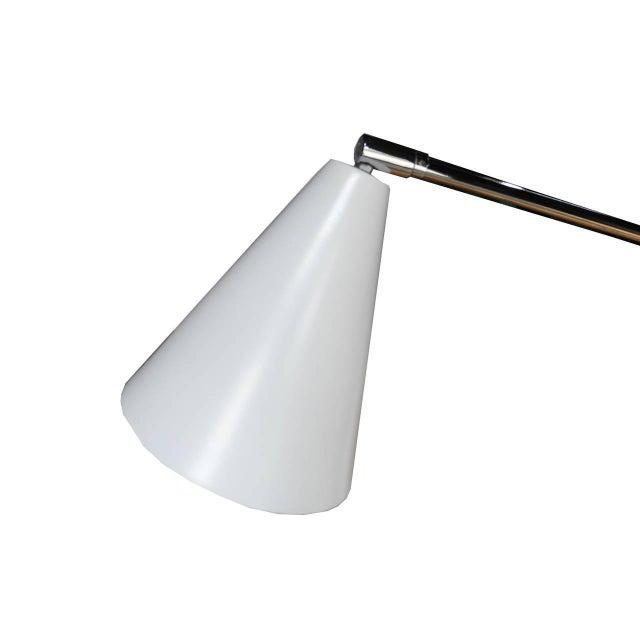 Arredoluce 1960s Italian Modern One-Arm Floor Lamp for Arredoluce For Sale - Image 4 of 8
