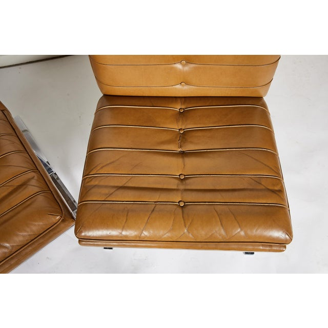 Pair of Midcentury Lounge Chairs For Sale - Image 11 of 13