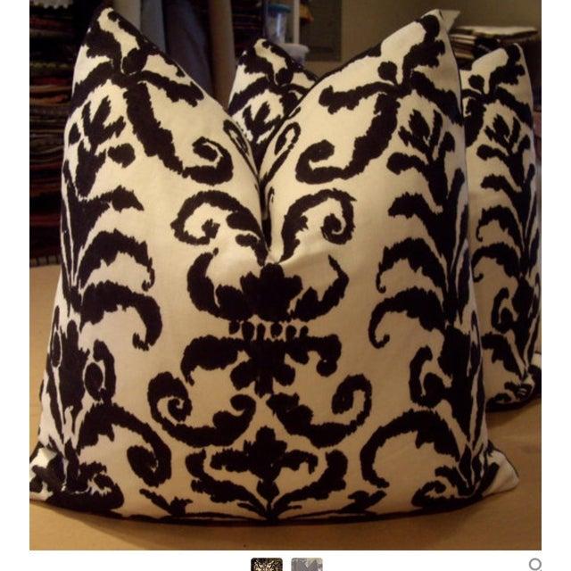 Ralph Lauren Finsbury Damask Pillows - A Pair - Image 2 of 3
